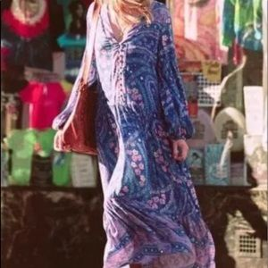 SPELL GYPSY CELESTIAL GOWN MED NWT
